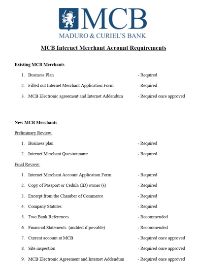 report on mcb bank The fund deposited in the mcb bank can be classified under the main heads: ♦ current or demand deposits ♦ savign depiosits ♦ fixed or term deposits ♦ call.