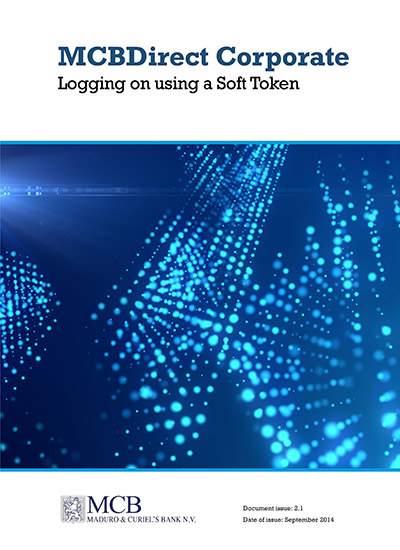 Logging on using a Soft Token