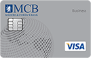 MCB Visa Business Card