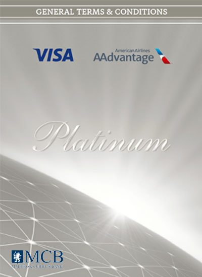 Visa AAdvantage Platinum Card Terms & Conditions
